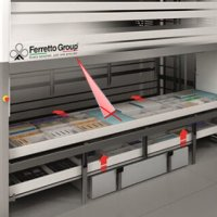 LED Pointer in Automated Warehousing