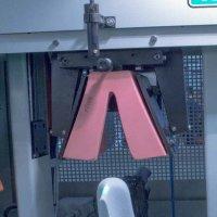 LED pointer in Footwear Machining
